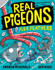 ben wood real pigeons andrew mcdonald flex feathers book cover